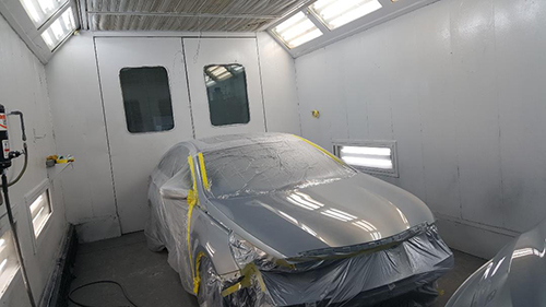 auto body painting booth manassas va