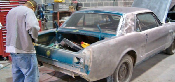 restoring classic mustang william county va